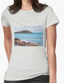 Natural Pool in Guernsey Womens Fitted T-Shirt