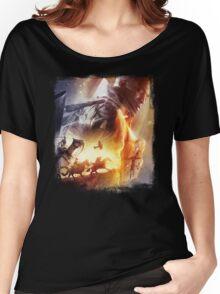 Battle Women's Relaxed Fit T-Shirt