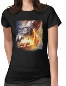 Battle Womens Fitted T-Shirt