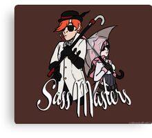 Sass Masters Canvas Print