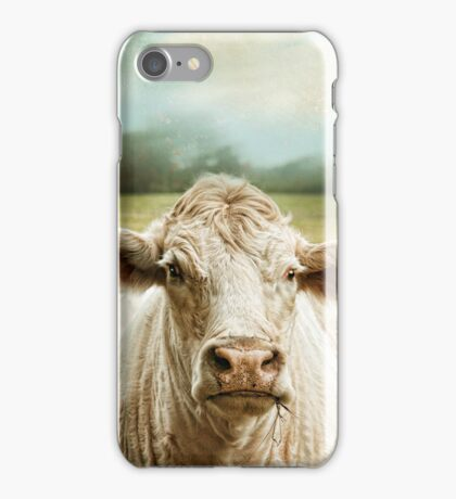 """Sunny Day Moo"" iPhone Case/Skin"