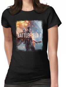 Battle Womens Fitted T-Shirt