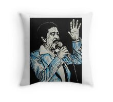 Brother Rich Throw Pillow