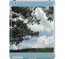 When Marshmellow Clouds Decided to Touch the Earth iPad Case/Skin