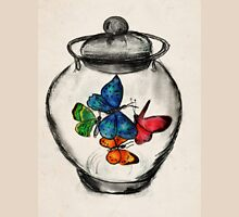 Jar of Butterflies Womens Fitted T-Shirt