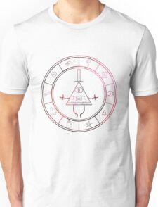 gravity falls- bill cipher wheel space Unisex T-Shirt