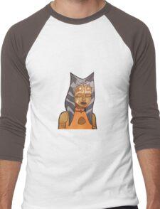 ahsoka tano artwork (version 1) Men's Baseball ¾ T-Shirt