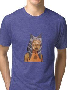ahsoka tano artwork (version 1) Tri-blend T-Shirt