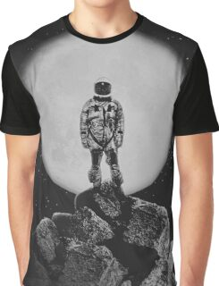 With The Moon  Graphic T-Shirt