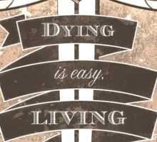 Inspirational Sheild Sticker