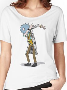 Wubba Lubba Dab Dab Rick - BAPE Variant No Background Women's Relaxed Fit T-Shirt