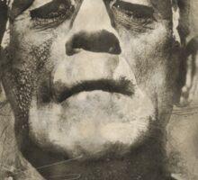 Frankenstein Monster Boris Karloff Design Sticker