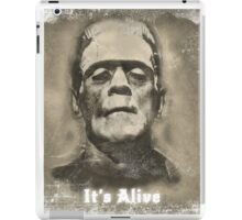 Frankenstein Monster Boris Karloff Design iPad Case/Skin