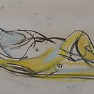 nude reclining by H J Field