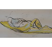 nude reclining Photographic Print