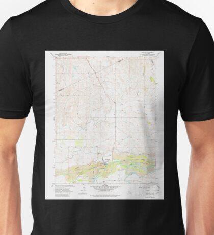 USGS TOPO Map California CA Snelling 300558 1962 24000 geo Unisex T-Shirt
