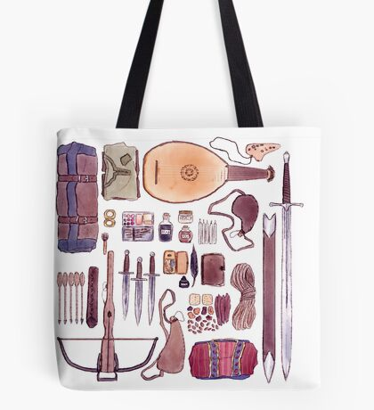 Bard's Inventory Tote Bag