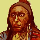 Spotted Eagle by itchingink