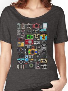 Pixelated Camerass Women's Relaxed Fit T-Shirt