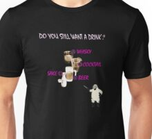 Catherine Drinks Design Unisex T-Shirt