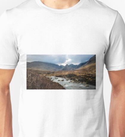 The Cuillins, Skye Unisex T-Shirt