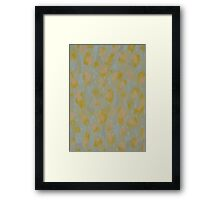 Animal Pattern Framed Print