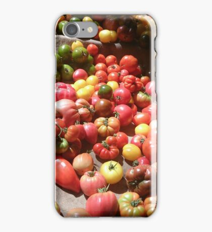 Tomato, Tomato, Tomato! iPhone Case/Skin