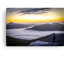 Sunrise on The Cobbler Canvas Print