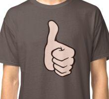 thumb up pouce en l'air super Classic T-Shirt
