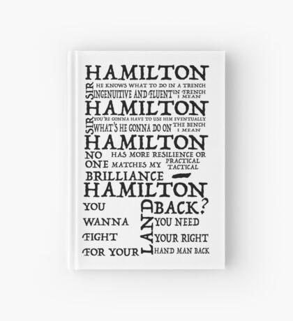 Guns and Ships Hamilton Lyrics Hardcover Journal