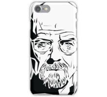 Breaking Bad: Heisenberg stencil iPhone Case/Skin
