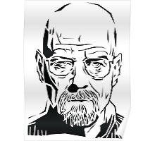 Breaking Bad: Heisenberg stencil Poster