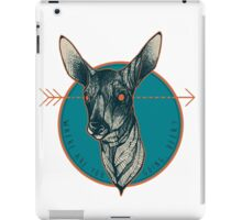 Where Are You Going, Deer? iPad Case/Skin