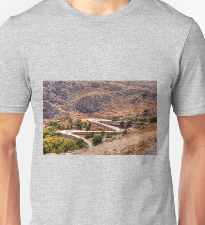 The long and winding road Unisex T-Shirt