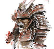 Samurai armor for sale, japanese warrior costume by Mariusz Szmerdt