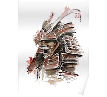 Samurai armor for sale, japanese warrior costume Poster