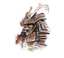 Samurai armor for sale, japanese warrior costume Photographic Print