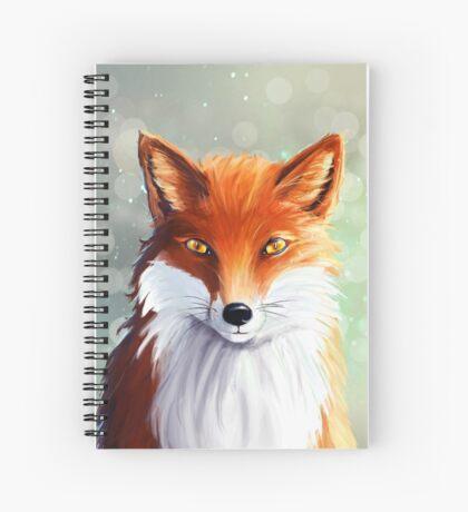 Le petit renard émerveillé Spiral Notebook