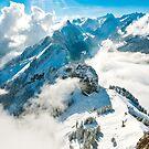 View towards Santis, Switzerland by Stephen Knowles