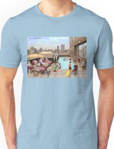 Art Deco Rooftop Chillout Unisex T-Shirt