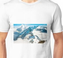 View towards Santis, Switzerland Unisex T-Shirt