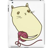 Cat and Yarn iPad Case/Skin