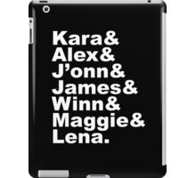 Supergirl Characters iPad Case/Skin