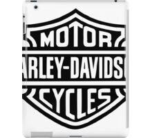 HARLEY DAVIDSON MOTOR logo iPad Case/Skin