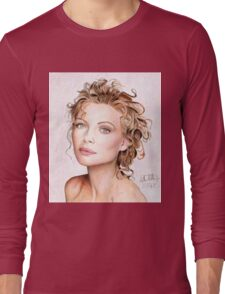 Michelle Pfeiffer - Lady of Hollywood Long Sleeve T-Shirt
