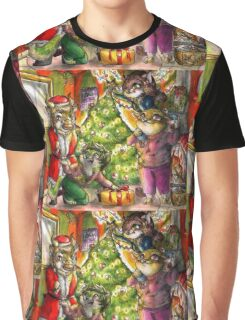 A chibi furry christmas Graphic T-Shirt