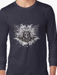 Resistance Royal Blue Long Sleeve T-Shirt