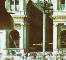 Galleria Vittorio Emanuele II - Milan, Italy Sticker