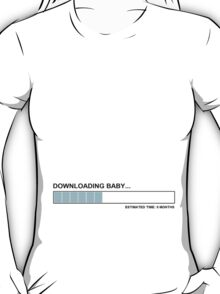 Downloading baby T-Shirt