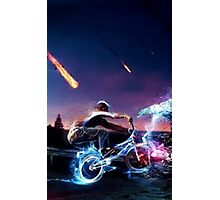 action bicycle Photographic Print